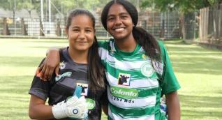 Valeria Candanoza y Yuliana Moreno.