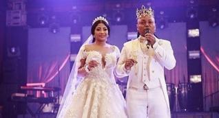 Mr. Black y su esposa Yuranis León.