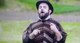 Santiago Rivas, presentador de 'Los Puros Criollos'
