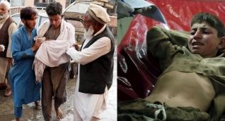 La explosión ocurrió en una concurrida mezquita en la provincia de Nangarhar, en el este de Afganistán.