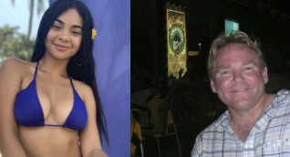 Paola Ariza y Brian Harrington