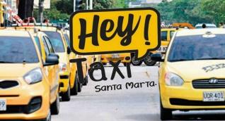 'Hey Taxi' llegó a Santa Marta