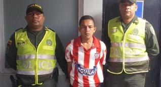 Rony Andrés Domínguez Lara, capturado.