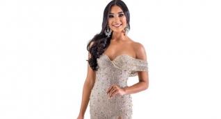 Luisa Cotes Ospino, representó al Magdalena en el Reinado Nacional de la Belleza.