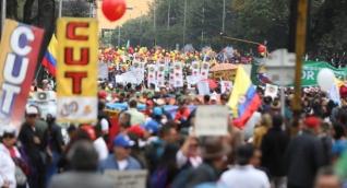Paro y marchas en Colombia