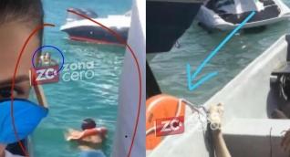Estas imágenes muestran que, minutos antes de morir, la joven nadaba con un flotador.