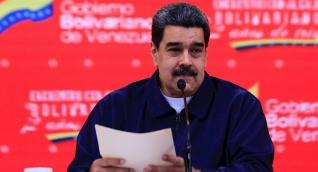 Nicolás Maduro en una alocución en Venezuela