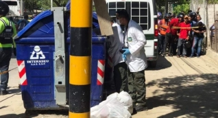 LA SIJÍN DE LA POLICÍA HIZO LA INSPECCIÓN JUDICIAL DEL CADÁVER