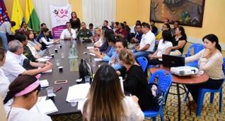 La descentralización del comité inició en la subregión Norte y continuará en la subregión Río en el municipio de Pivijay.