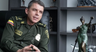 Juan Carlos Buitrago, director de la Policía Fiscal y Aduanera