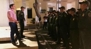 Los nuevos 30 policías llegaron el pasado lunes.
