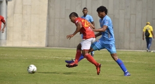 El cartagenero marcó el único gol del compromiso desde el punto blanco.