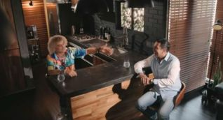 El pibe y el Checo en la entrevista