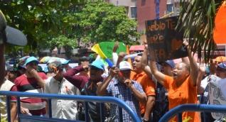 La funcionaria se refirió a las manifestaciones de los simpatizantes de Fuerza Ciudadana.