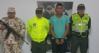 Sebastián Beleño Carreño, capturado
