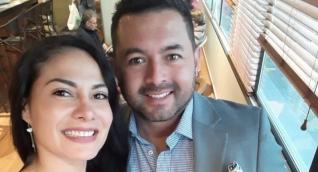 Sandra Milena Alegría, presuntamente asesinada y Billy Hernán Ortiz sobreviviente de crimen.