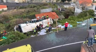 Trágico accidente en Portugal