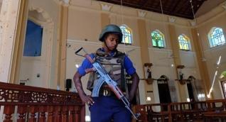 Imagen de una las iglesias atacadas.