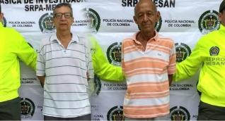 Estas fueron las dos personas capturadas por la Policía.