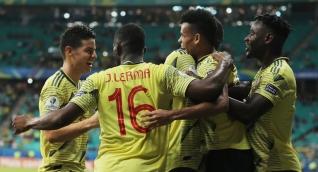 Gustavo Cuéllar marcó el gol de la victoria frente a Paraguay.