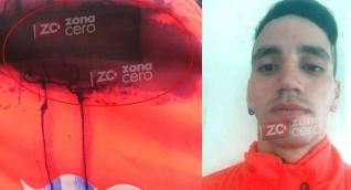 La maleta que usó el asesino y el dueño del canasto, Sebastián Castro Molina.