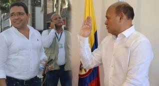 Carlos Milton Fonseca (derecha) fue el magistrado que ordenó que se hiciera de inmediato la audiencia de Martínez.