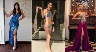 Mariana Villalobos, Ornell Rodgers y Camila Monsalve
