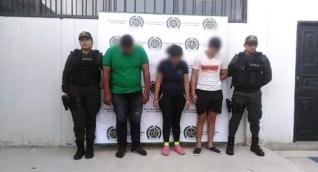 Capturados 3 venezolanos por extorsión