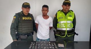 El capturado fue identificado como Brayan David Márquez Ospino, de 25 años.