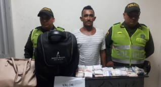 Luis Alberto Mendoza Escorcia, capturado por el delito de hurto calificado agravado.