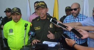 El Coronel de la Policía Metropolitana y el Director de Fiscalías entregaron los detalles de la captura de alias 'Andrade'.