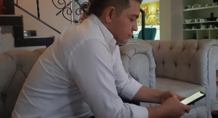 Rafael Martínez recibió la noticia en su domicilio.