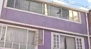 Casa donde se presentó el hallazgo