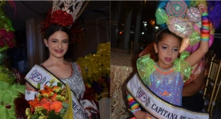 Celina María Daza Saade, Capitana Pre-Juvenil y Sarah Ahmad Donado, Capitana Pre-Infantil