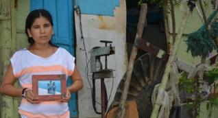 Yuliana Sanguino, madre de Albertico Cardona, recuerda a su hijo un año después de su desaparición.