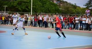 El partido amistoso le sirvió a ambos como preparación para sus venideras competencias.
