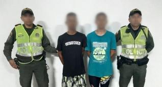 Los menores fueron dejados a disposición de la Fiscalía Segunda de Infancia y Adolescencia de Fundación.