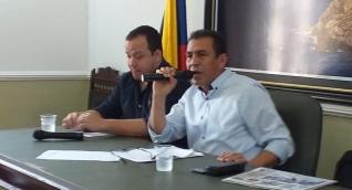 Julio Alzamora, presidente de la Asamblea.