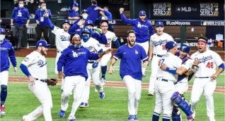 La novena de los Ángeles volvió a festejar en la MLB.
