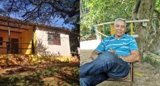 Álvaro Peña Cantillo, un anciano de 73 años, nativo del corregimiento de Taganga.