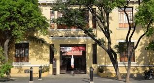 Edificio del antiguo hospital San Juan de Dios.