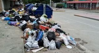 Así lucen algunos contenedores en el Distrito.