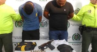 Jean Carlos Montero López y Yoisser Enrique Troncoso Escorcia, capturados