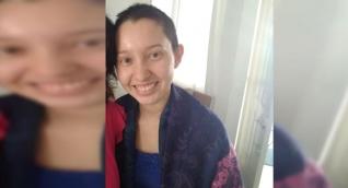 Ella es Wendy Flórez, la joven desaparecida desde el pasado lunes.