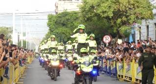 Un total de 600 efectivos de todas las especialidades entre hombres y mujeres, serán distribuidos estratégicamente en todos los eventos que se realizaran en la ciudad.