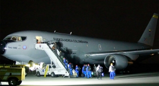 El avión fue dotado con todos los requerimientos necesarios para que pueda cumplir el exigente itinerario.