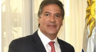 El embajador de Colombia en Uruguay, Fernando Sanclemente.