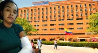 Beatriz Elena Muñoz lleva cuatro días hospitalizada en el 'Julio Méndez Barreneche'.