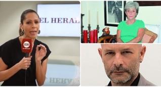 Los columnistas Lola Salcedo y Jorge Muñoz (derecha) salieron de El Heraldo en los últimos días.