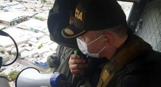 Estos operativos, se logran de manera coordinada con unidades de Policía en tierra, a través de una comunicación directa.